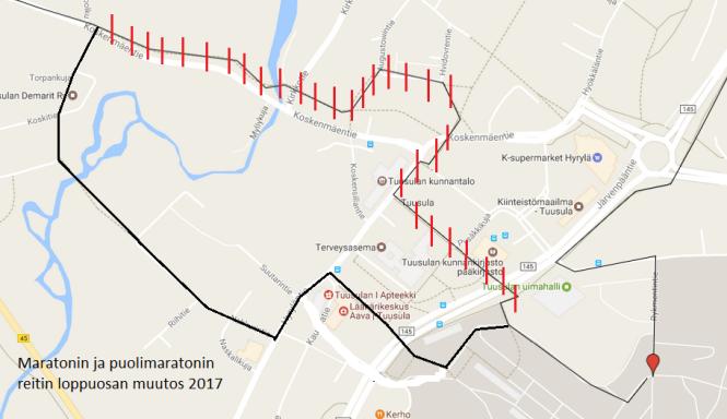 maraton_puolimaraton reitti loppuosa uusi